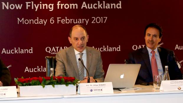 Qatar chief bags Air NZ for cancelling agreement that would