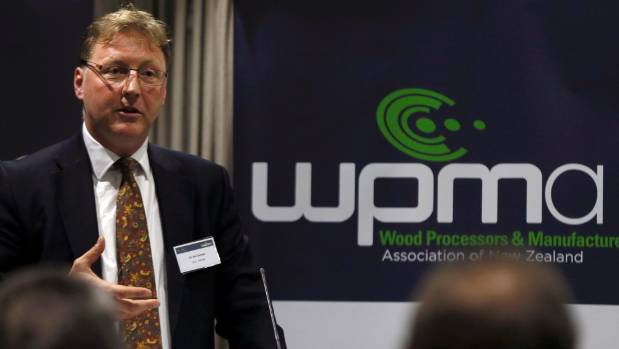 Wood Processors and Manufacturers Association of New Zealand chief executive Jon Tanner.