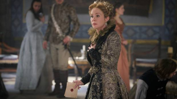 Megan Follows pulled double duty on some episodes of Reign, directing as well as acting.