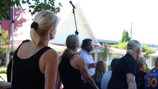 Te Herenga o te Kotahitanga on stage during the opening ceremony.