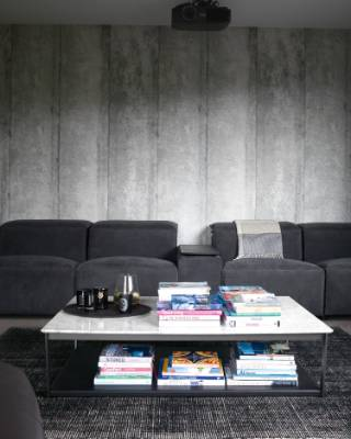 Robert loves the King Cloud sofa from King Living; each of the seats can recline.