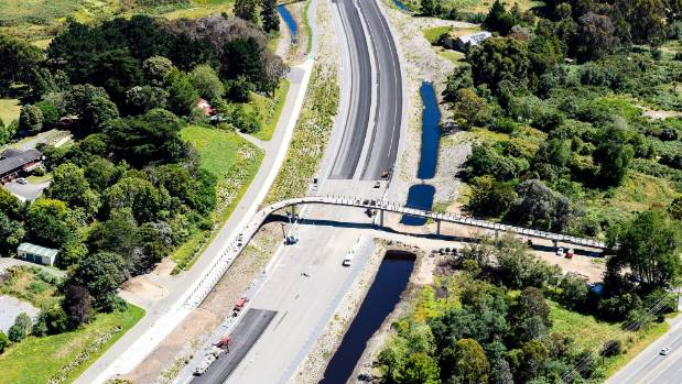 The Mckays to Peka Peka section of the Kapiti expressway, which will be completed on February 16, is expected to ...