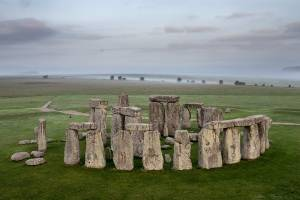 A major gridlocked road that now past the prehistoric monument in southwest England will be shifted underground.