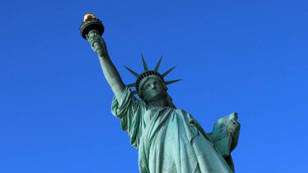 The Statue of Liberty has a viewing area in the torch, but it has not been open since 1916.