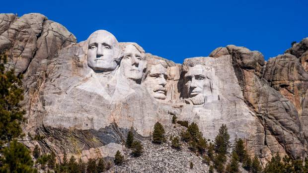 A secret room inside Abraham Lincoln's head at Mount Rushmore is called the Hall of Records and contains information ...