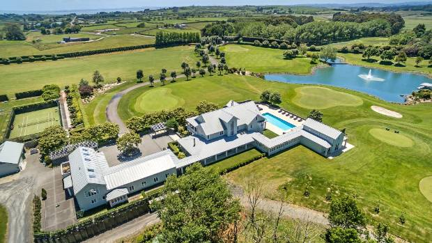 The palatial property owned by Eric Watson's Cullen Investments has six bedrooms, a guest wing and a helipad.