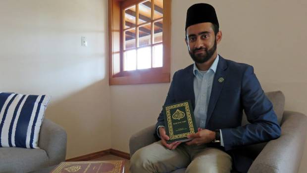 Ahmadiyya imam Mustenser Qamar is open to a chat with anyone about his beliefs.