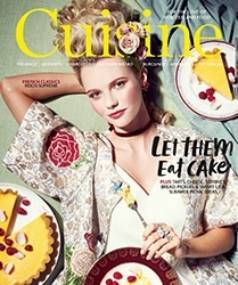The March issue of Cuisine is on sale now.