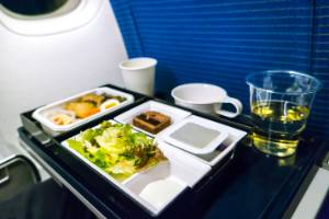 As airline profits grow, passengers grumble that food should be included in the fare.