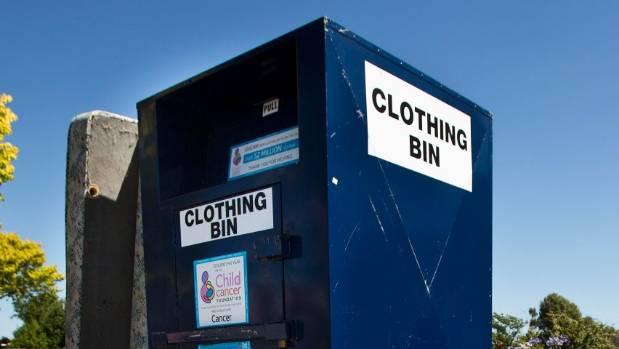 Clothing Bins Auckland - NomadWiz