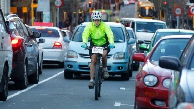 Cyclists in the Wellington region have a greater-than-average risk of being killed or seriously injured compared to ...