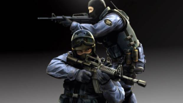 Counter-Strike is a multiplayer first-person shooter video game.