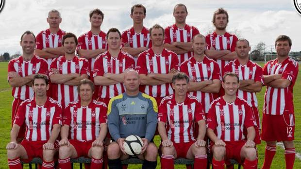 The Cambridge Legends football team is at the New Zealand Masters Games in Wanganui.