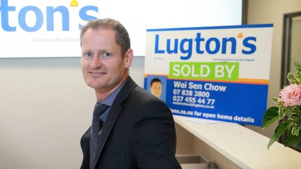 Lugton's Real Estate managing director Simon Lugton.