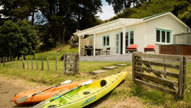 There is also a luxury holiday cottage with spa and kayaks.