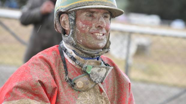 JANUARY 4: At Roxburgh trots, Blair Orange drove Spotlight The Valley through atrocious weather conditions to the win.