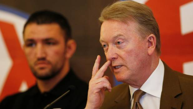 Veteran promoter Frank Warren is encouraged by the new look of his young heavyweight Hughie Fury.