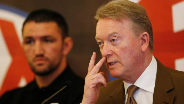 Hughie Fury's promoter Frank Warren has continued the war of words with Joseph Parker's promoters at Duco Events.