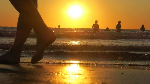 The beaches are expected to be packed as people seek relief from the heat.