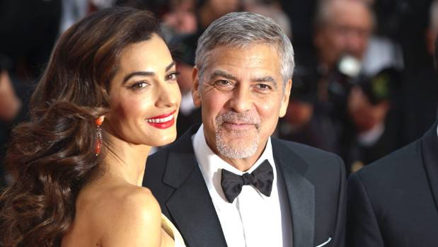 Amal Clooney and George Clooney are expecting twins.