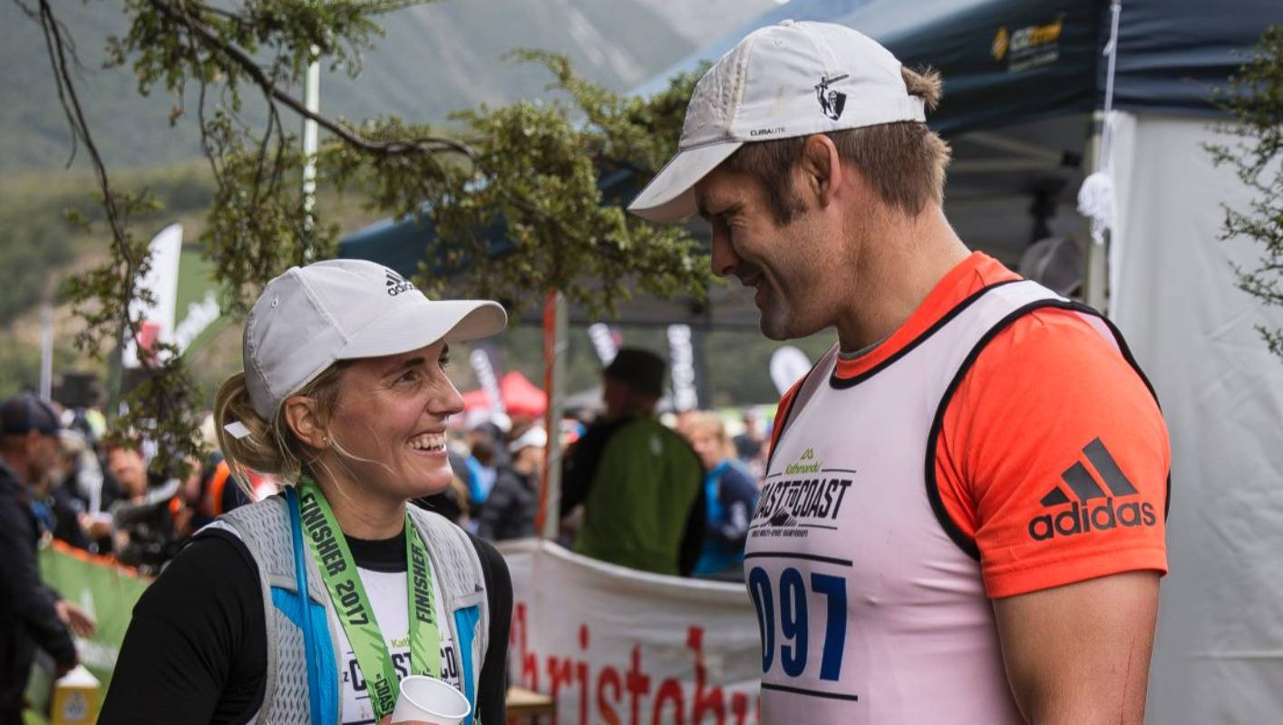 Richie and Gemma McCaw scale new heights with Coast to Coast mountain run 661e21b1414a