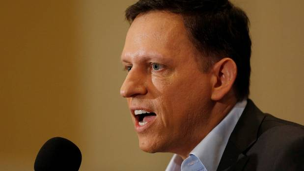 New Zealand's second richest man, worth US$2.7 billion, is PayPal co-founder Peter Thiel.