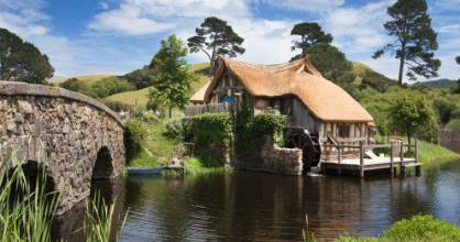 Hobbiton brings the Lord of the Rings to life.