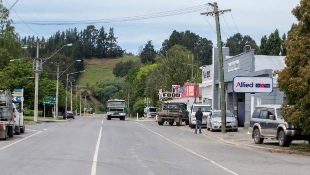 Waiau in North Canterbury suffered major earthquake damage.