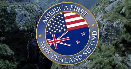If it has to be America first, can't it be New Zealand second - or third?