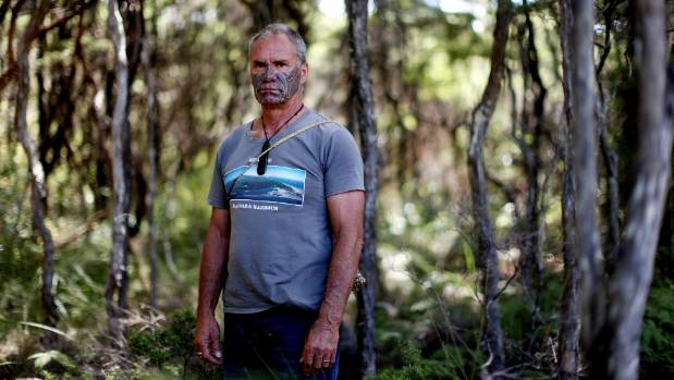 """By blocking Comvita's access to the Waiohou reserve, Mikaera Miru said he and his community aim to """"reassert our own ..."""