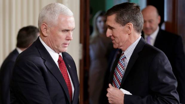 Image result for Flynn/pence