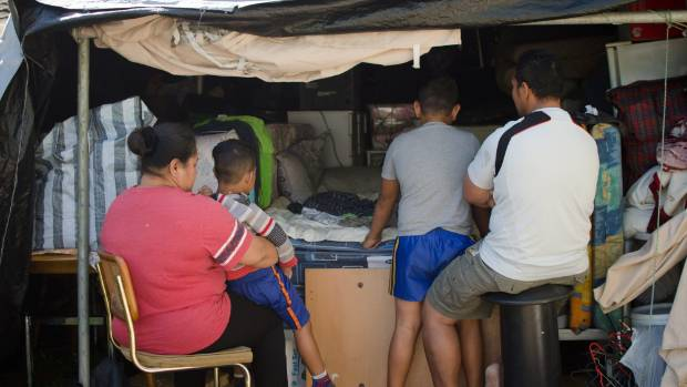 Samoan family stuck in makeshift, mosquito-ridden tent - \'through no ...