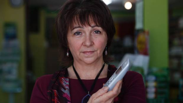 Shirley McGuire, co-owner of green world health and Lifestyle in Motueka, was approached by a telephone scammer claiming ...