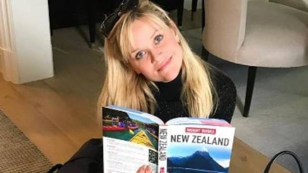 Reese Witherspoon has said New Zealand is the best place she's ever filmed a movie.