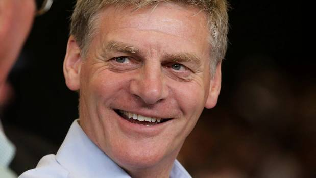 Prime Minister Bill English's figures are looking good.