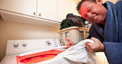 Avoid overloading your washing machine.