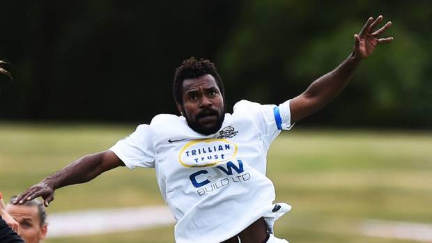 Raymond Gunemba is Hamilton Wanderers' leading scorer this season, with five goals.
