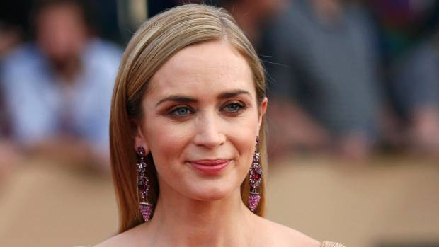 Actress Emily Blunt will play Mary Poppins.