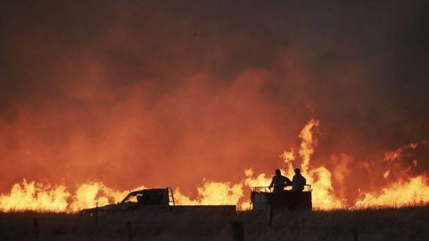 Australia Battles Bushfires Across Nsw As Heatwave