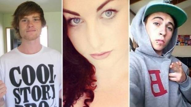 Jake Lindsey Hayes, 19, his flatmate Toni Johnston, 23, and Connor James Swetman, 17, died in the blaze.