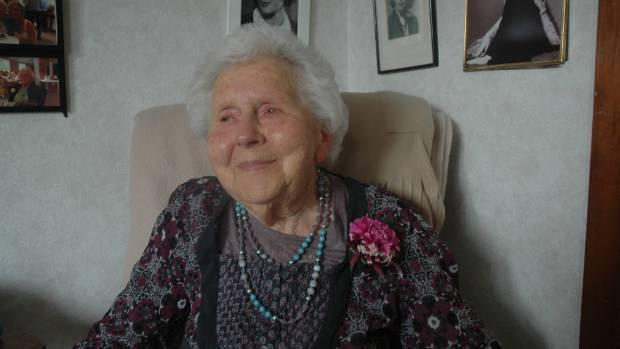 Upper Hutt's Madeline Anderson, who will celebrate her 110th birthday in May, is one the country's oldest people.