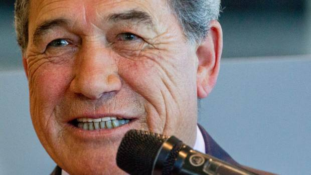 NZ First Party's Winston Peters came second in the rankings.