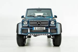 Mercedes-Maybach G650 Landaulet.