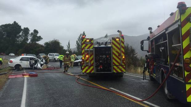 A two car crash which killed an Australian woman near Queenstown last month.