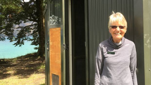 Kidds Bush Department of Conservation volunteer Mary Miller says the film crew has been trying hard to minimise ...