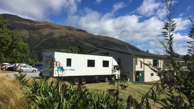 A Wrinkle In Time production crew is based at the Lake Hawea Community Centre.