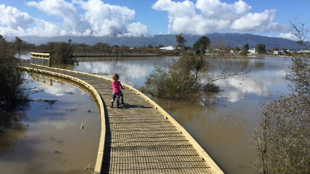 The Kawatiri River Trail and Kawatiri Beach Reserve was built by volunteers over six years transforming a wasteland into ...