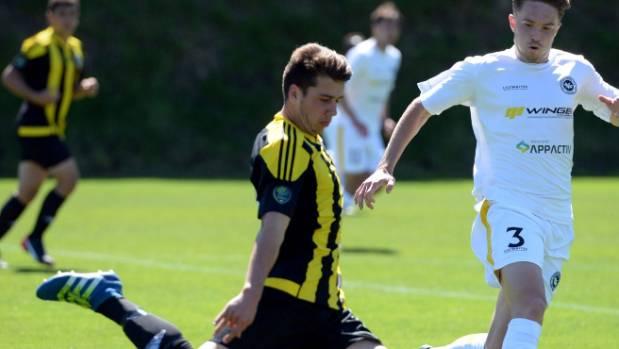 Willem Ebbinge scored a brace in the NZ U-17s' 11-0 win over Samoa.