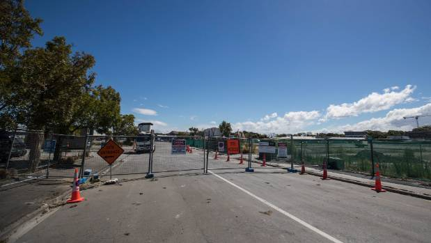 Remediation work has begun at the metro sports facility site in central Christchurch.