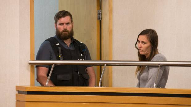Megan Sarah Louise Walton pleaded guilty to charges relating to the Huntly incident in Hamilton District Court on Monday